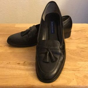 Karen Scott Black Leather Shoes